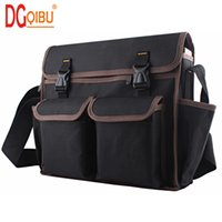 Wholesale strap water proof - DGQIBU 600D Oxford Tool bag Large capacity Repair tool water proof bags storage for Electricians Tools Shoulder Strap Bag