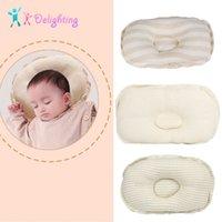 travesseiro de enxaqueca venda por atacado-Bonito recém-nascido cama Pillow Prevent Cabeça Chata infantil almofadas de apoio do bebê Crianças Anti-enxaqueca Pillow Forma crianças Almofadas