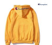 Wholesale Japanese Women Cotton Tops - 2018 Europe and the United States Japanese tide card sup men and women hooded sweater couple with hood long-sleeved top hoodie plus velvet m