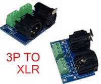 ingrosso dmx 512 decoder principale-1 pz / lotto XLR3-3P XLR TO 3P DMX512 Relè led uso connettore per DMX 512 LED decoder controller Spedizione gratuita