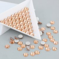 Wholesale Diy Sew Stones - All Size Rhinestones for nails stones and crystals sewing accessories wedding decoration DIY stones (Lt.Peach)