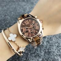 luxo relógio de ponta venda por atacado-Três olhos digitais moda personalidade do relógio de pulso de luxo strass clássico pequeno fresco moda retro high-end ladies watch br