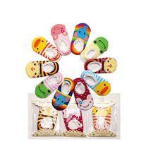 Wholesale baby socks pack - 10pairs  Lot Packing 9-15cm Newborn Baby Foot Cover Baby Sock (Mix Various Styles) Anti Slip Kids Socks for Boy Girl
