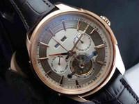 mechanical watch movement NZ - AA2018 new men's automatic mechanical watch.Leisure sports leather belt wristwatch, self-winding Mechanical movement Mens watch Wristwa