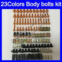 Wholesale kawasaki ninja body kits - Fairing bolts full screw kit For KAWASAKI NINJA ZX 300R 13 14 15 ZX300R EX 300 EX300 2013 2014 2015 Body Nuts screws nut bolt kit 23Colors