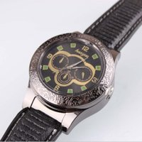 Wholesale cigar watches for sale - Group buy Cigar USB Lighter Charging sports casual quartz Watches wristwatches Cigarette Smoking watch lighter styles Choose With Gift Box Tools