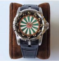 наручные часы круглого стола оптовых-Модный Диск Цвета Рыцаря Круглого Стола Серии 12 Короля Dube Лимитированный, Глобальный Лимитированный Wristwatch Машины Поставки