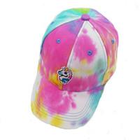 çocuklar hayvan beyzbol kapakları toptan satış-Unicorn Beyzbol Kapaklar Hayvan At Işlemeli Hafif Nefes Yumuşak Golf Kapaklar Çocuklar Yetişkinler Spor Şapka Moda Aksesuar