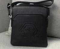 Wholesale boston travel bag resale online - Leather Messenger Bags Men Travel Business Crossbody Shoulder Bag for Man Sacoche Homme Bolsa Masculina