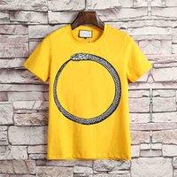 Wholesale Camp Tshirt - T Shirt Men 2018 Brand Male Short Sleeve Embroidery Printing T-Shirts Mens Casual Mens Slim Tshirt Slim Tee with tags High Quality M-3XL