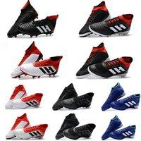Wholesale copa football boots - Original Predator Tango 18.3 Football Boots ACE Predator 18+ FG Copa Tango TF ic Soccer Shoes Mens Indoor Soccer Cleats Mens Accelerator
