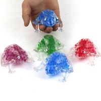 cuentas de rana al por mayor-Nuevos juguetes para niños al por mayor bolas de bolas de alta calidad rana transparente ventilación exprimido juguetes de música exprimidos
