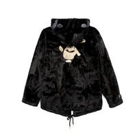 erkek pamuklu moda modası toptan satış-18AW Yeni Japon Sokak Moda Gevşek Kalın Uzun Bölüm Sıcak Ceket Siyah Altın Serisi Pamuk Erkekler Ve Kadınlar Çift Coat HFBYJK063