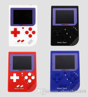 Wholesale CoolBaby RS Portable Retro Mini Handheld Game Console bit Color LCD Game Player For FC Game free EMS A ZY