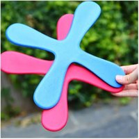 Wholesale flying house - Safe EVA Dart Flying Boomerang Back Frisbee EVA Leaf Boomerang Dart Back And Forth Popular Indoor Outdoor Sports Toys For Kids