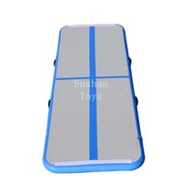 Wholesale water pump used for sale - Group buy X1X0 m Inflatable Tumble Air Track Mat with Pump for Gymnastics Home Use Training Cheer leading Beach Park Water Parkour