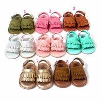 sapatas infantis do patim venda por atacado-Sapatas de bebê menina primeiro caminhantes infantil sapatos criança boutique sapatos de menina anti-derrapante sandália