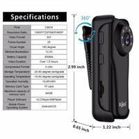 mini dv fotoğraf makinesi mikro sd kartı toptan satış-WiFi Mini Kamera 1080 P IP Mikro Kamera Kızılötesi Gece Görüş Mini Spor DV Kamera Döngü Video Kaydedici Desteği 64G Mikro SD Kart