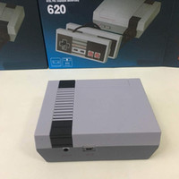 en kaliteli videolar toptan satış-Mini TV Oyun Konsolu Video El Için 620 NES Oyunları Konsolları perakende kutuları ile 2018 sıcak satmak En Kaliteli Uzun Denetleyici Kablo