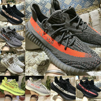 Wholesale cheap sneakers online - 2018 SPLY V2 Boost Belgua zebra black Orange Shoes Online Discount Cheap Kanye West Men Women Basketball Running sneakers