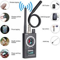bug finder hf signal detektor großhandel-1MHz-6.5GHz K18 Multifunktions-Kamera-Detektor Kamera GSM-Audio-Bug-Finder GPS-Signal-Objektiv Rf-Tracker erkennen drahtlose Produkte