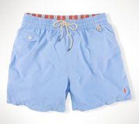 Wholesale black leopard swimwear for sale - Summer Swimwear Beach Pants Mens Board Shorts Black Men Surf Shorts Small Horse Swim Trunks Sport Shorts de bain homme M XL