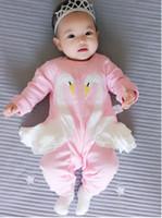 4210c301eef8 6% Off. AUD  8.21. Baby squirrel long sleeve onesie Cute girls animal  pattern long sleeve jumpsuit ...