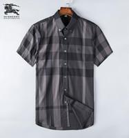 moda da camisa dos homens da flanela venda por atacado-2018 dos homens de negócios da marca casual camisa dos homens de manga longa listrado slim fit camisa masculina social camisas masculinas nova moda camisa # 1169