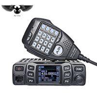 uhf rádio de banda dupla venda por atacado-AnyTone AT-778UV Dual Band rádio transceptor móvel VHF / UHF em dois sentidos e rádio amador Walkie talkie por camionisti presunto