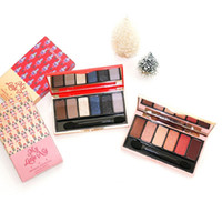Wholesale matte eye shadow kits for sale - Group buy Newest Color Christmas Nutcracker Matte Glitter Eyeshadow Pigment Eye Shadow Set Shimmer Highlighter Christmas Present Makeup Kits