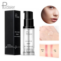 Wholesale remove gel nails online - Pudaier Natural Professional Makeup Nude Face Base Primer Foundation Moisturizer Cream Eye Shadow Primer Gel Cosmetics Maquiagem