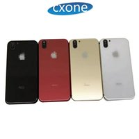 Wholesale iphone battery back housing online - For iPhone G s Housing Battery Door Like iPhone X style Housing Battery Back Cover Replacement Perfectly Fit