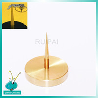 Wholesale brass repair - Full Brass Golden Color Watch Balance Holder Tool,Repair Watch Tools for Watchmaker