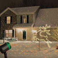 Wholesale sky spotlights - Outdoor Laser Projector Sky Star Spotlight Showers Landscape DJ Disco Lights R&G Garden Lawn Christmas party