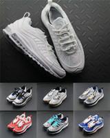 blaue frau x männer großhandel-Mens 98 Gundam X OG Blau Schwarz Herren Laufschuhe Joint Limited Turnschuhe Sportschuh Fashion Racing Runner Männer Frauen Persönlichkeit Trainer