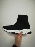 Wholesale plastic mesh cloth - New design High Quality Unisex Casual Shoes Flat Fashion Socks Boots Woman Slip-on Elastic Cloth Speed Trainer Runner Man Shoes Outdoors
