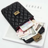 dokument organisator brieftasche großhandel-SAFEBET Portable WomenMobile Handytasche Umhängetasche Reisedokument Organizer Passport Quaste Mode Brieftasche
