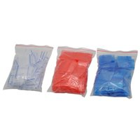 Wholesale poly packing - 100pcs Plastic 25x25mm Resealable Cellophane Small Bag Packing Storage Seal Bags Jewelry Ziplock Zip Lock Poly Bags Color Random