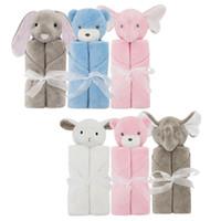 roupa de cama de qualidade venda por atacado-New Children Blankets Carton Rabbit Crystal Cashmere Bag Cuidados com o bebê Cobertura de ar-condicionado Soft Nursery Bedding Quilt Qualidade superior 38am Z