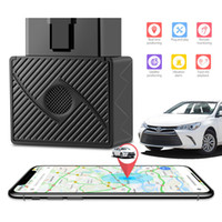 Wholesale car gps online - OBD GPS Tracker Real Time Car Vehicle Tracking Device Spy System Locator Alarm