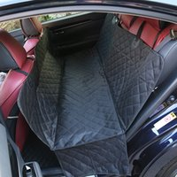 Wholesale pet car seat cover online - Multifunction Waterproof Dog Car Seat Cover Non Slip Multi Style Oxford Material Foldable Portable Pets Mats New zy3 Z