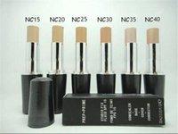 spf 15 venda por atacado-Alta Qualidade Maquiagem Rosto PREP + PRIME Estúdio Fixo Fluido Spf 15 Corretivo Fundação 30 ml 6 cores de transporte rápido
