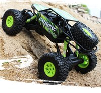 Wholesale car motor wheels online - 1 RC cars High Speed Fast Race Cars Four wheel Drive Electric Remote Control Off road Vehicles colors