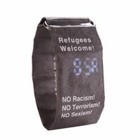 einfache uhren für mädchen großhandel-Elektronische papier uhr smart watch mode liebhaber einfache mädchen uhren wasserdicht herren armbanduhr