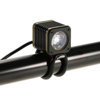 bisiklet uyarı ışıkları toptan satış-Bisiklet LED Ön Işık Ön Gidon Bisiklet Işık 500 Lümen Alüminyum USB Akıllı Bisiklet Bisiklet Far Uyarı Işığı C18110701 Şarj