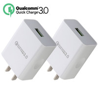 Wholesale wall charger android tablet online - Quick charge QC3 US Fast charger Ac home travel wall charger adapter for iphone X samsung s7 edge s8 tablet pc android phone