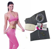 fett fett schnell großhandel-Active Belly Fashion Professional Fettverbrennungssystem Schnelle Gewichtsabnahme durch Bodyforming mit Luftdruck für Unisex-Grau