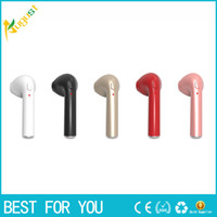 Wholesale Mini I Phones - Mini Wireless Bluetooth Headset In-Ear Earphone Invisible Earpiece with Mic for i Phone 6 6s 6Plus 7 7 Plus