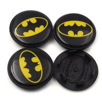 Wholesale parts for car abs resale online - Gzhengtong mm Batman Logo Auto Wheel Center Badge For Range Rover Car Wheel Hubs Caps Emblem Part BJ32 AB
