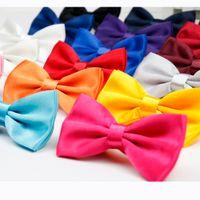 ingrosso uomini due toni di arco di tono-Uomo Solid Fashion Bowties Groom Mens Plaid Two Tone Scaly Cravatta per uomo Butterfly Gravata Male Wedding Wedding Bow Ties